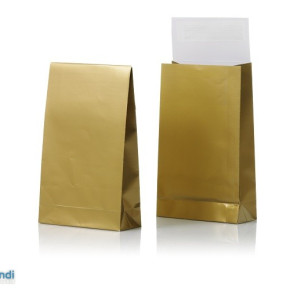 Bag for gifts, gold and silver, 140x230x55
