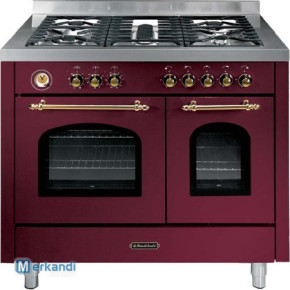 Range cookers / gas cookers with double oven Fratelli Onofri