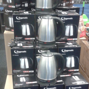 TOP MATIC  1.8 litre Stainless Steel Kettle