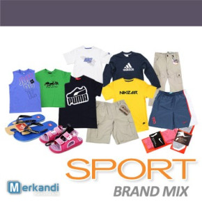 Wholesale of SPORT BRAND clothes mix for kids