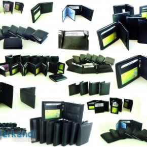 20 x Genuine Leather Men's Wallets per 4.95 EUR