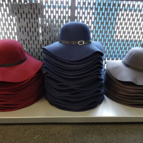 Floppy hats with wool blend (5 colors)