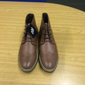 Brown Mens Ankle Boot from Primark - EXPORT ONLY
