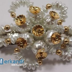 HAIRCLIP WITH PEARLS