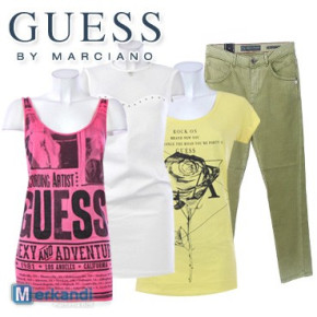 Wholesale of GUESS clothes for women