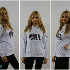 Sweatshirt for women with hood