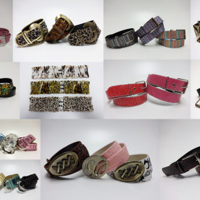 100.000 pieces mixed belts