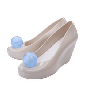 Melissa rubber wedges women's shoes with the ball dragon ball