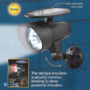 SOLAR SECURITY FLOODLIGHT - BRAND NEW STOCK