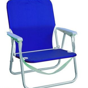 FOLDABLE BEACH CHAIR WITH STEEL TUBE