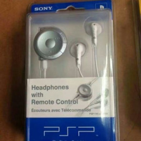 Sony  PSP-only headphones with remote control