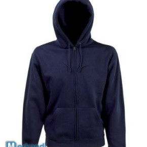 Hoodie sweater with zip