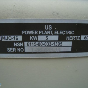 ''DIESEL POWER PLANT ELECTRIC over the Chassis''