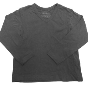 Anthracite kids t-shirts boys long sleeves