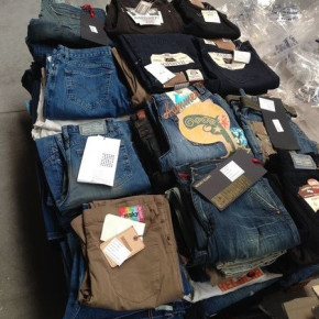 Women´s and men´s jeans, Made in Italy