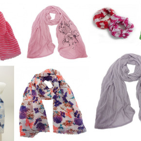 Stock clearance: 7500 pieces scarves