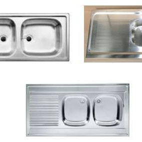 GERMAN-MADE Stainless steel kitchen sinks