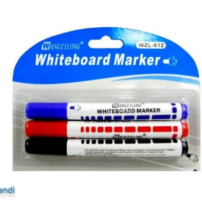 Markers 3 pieces to wipable blackboard MB-5047
