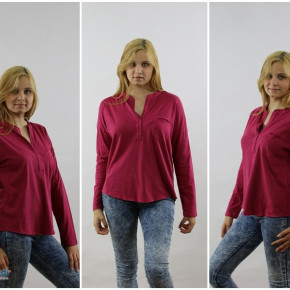 Blouse for women with pocket