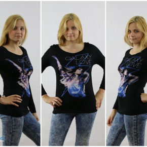 Women's sweatshirts with long sleeves