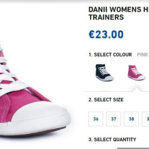 TRESSPASS Canvas Shoes DANII - WOMEN'S TRAINERS