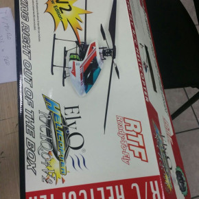 Stock helicopters radio-controlled ElyQ