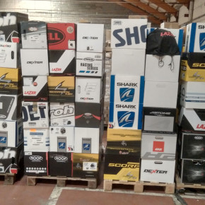 Stocklot of Motorcycle accessories  brands