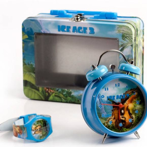 Ice Age 3 watch and Alarm clock sets