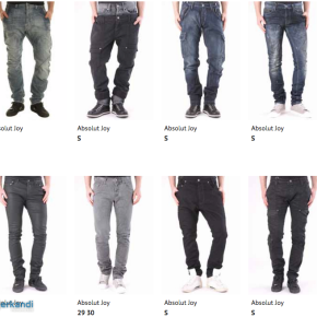 Stock Men's Jeans Small Sizes