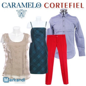 Wholesale of CARAMELO & CORTEFIEL clothes for men and women