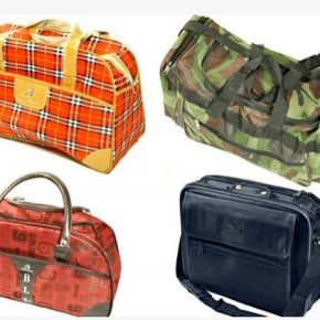 Sports bags, travel bags, laptop bags - different models