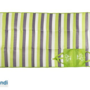 PP beach mat with pillow  three fold