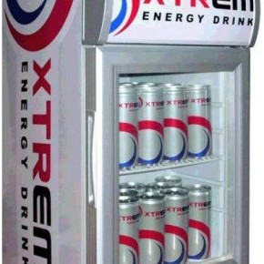 Xtrem Energy Drink + refrigerator for free