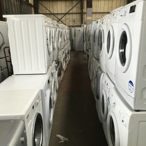 White goods and large domestic appliances