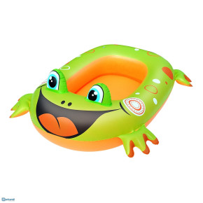 Bestway inflatable frog fish boat           SIZE 101 CM X 68CM