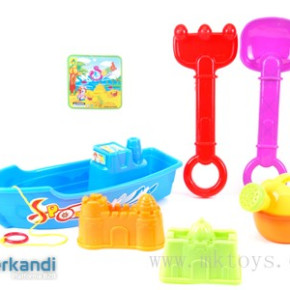 Beach boat with accessories 12 pcs