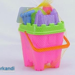 Ocean 841 tower shape beach bucket with accessories