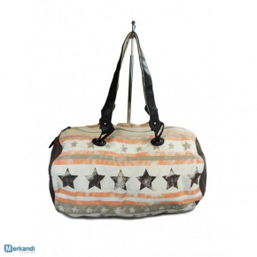 Weekend bags - travel bags with star and stripe print