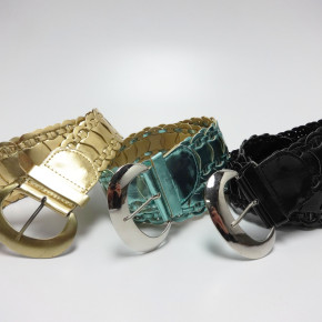 Braided belts color mix