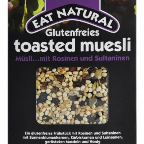 Muesli, chocolate bars and other food - residual stock