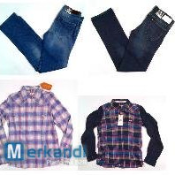 Wrangler and Lee women's wear - sample collection