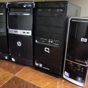 HP/Compaq used high-end towers wholesale supplies