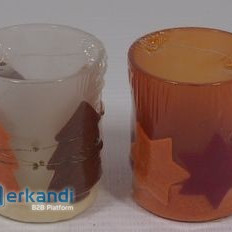 CHRISTMAS TEALIGHT CONTAINER