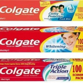 Colgate 100ml toothpaste - wholesale clearance