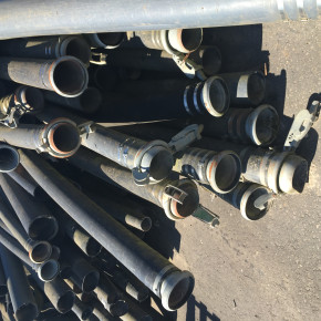 large job lot lot of suction hoses available