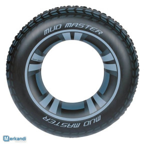 Bestway Mud Master Tyre Shaped / Tire Design Swimming Float Ring