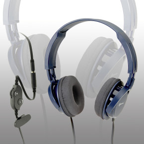 HS 100 LR Stereo headphones with powerful dynamic sound quality