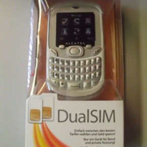 Alcatel one touch 355 Dual Sim - 1 device for work and personal