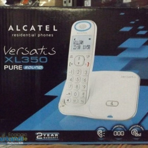 ALCATEL Versatis XL350 PURE Sound - Large buttons - Cordless phone in white