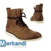 Wholesale branded footwear MUSTANG, MARC, PALLADIUM, SELECTED clearance sale